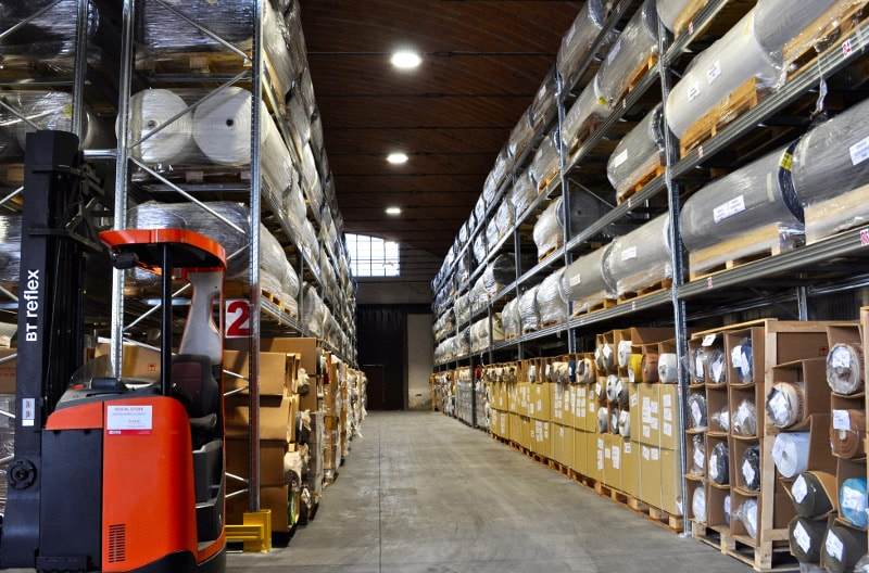 warehouse logistics dani italy